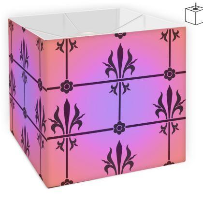 Square Lamp Shade - Insignia Pattern 2