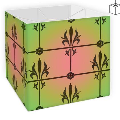Square Lamp Shade - Insignia Pattern 3