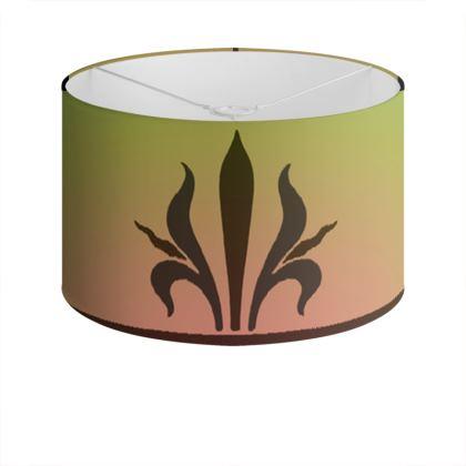 Drum Lamp Shade - Insignia Pattern 3