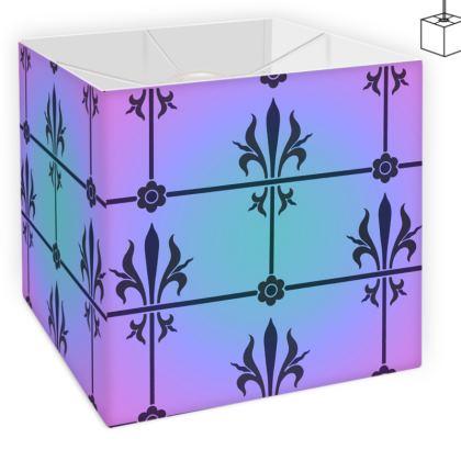 Square Lamp Shade - Insignia Pattern 4