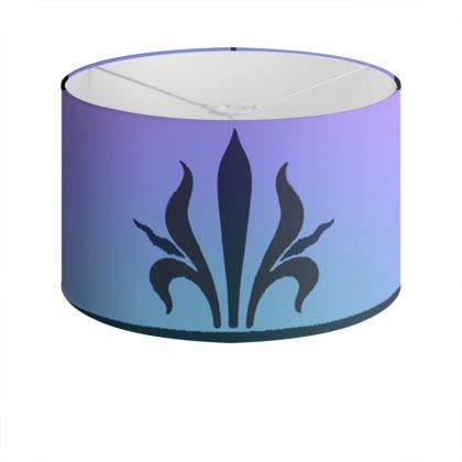 Drum Lamp Shade - Insignia Pattern 4