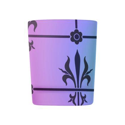 Glass Tealight Holder - Insignia Pattern 4