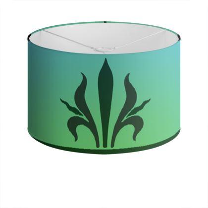 Drum Lamp Shade - Insignia Pattern 5