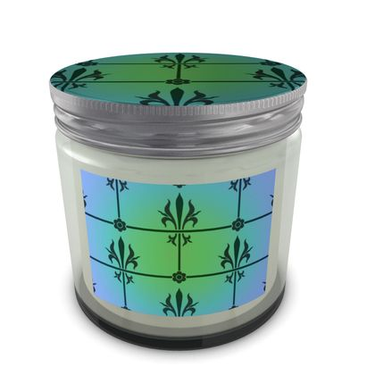 Set Candle In Jar - Insignia Pattern 5
