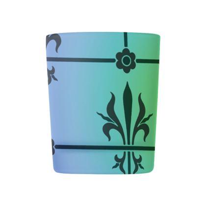Glass Tealight Holder - Insignia Pattern 5