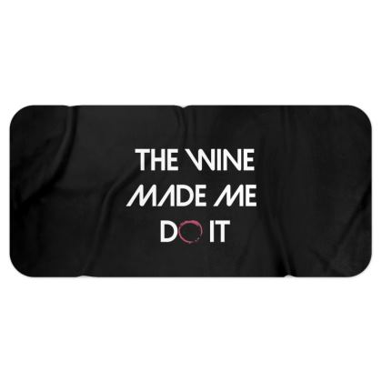 Blanket Scarf - The Wine Made Me Do It