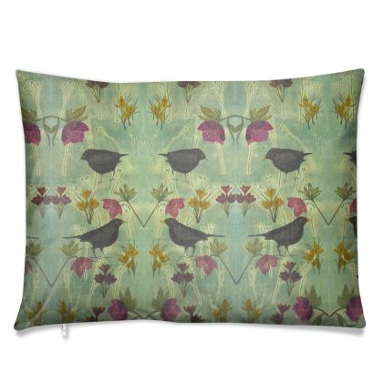 'My Little Green Space' Luxury Cushions