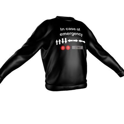 Sweatshirt - In Case of Emergency - Use Cheat Code 2