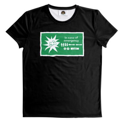 T Shirt - In Case of Emergency - Use Cheat Code