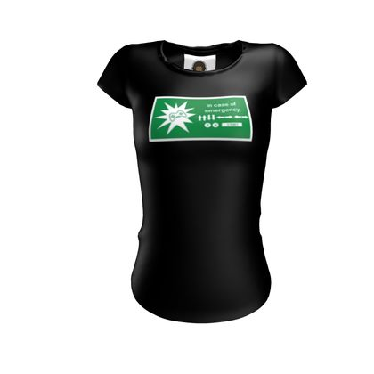 Ladies T Shirt - In Case of Emergency - Use Cheat Code