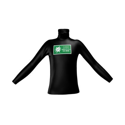 Mens Slim Fit Roll Neck - In Case of Emergency - Use Cheat Code