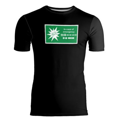 Slim Fit Mens T-Shirt - In Case of Emergency - Use Cheat Code