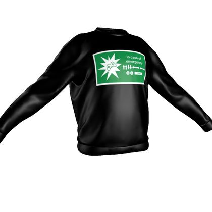 Sweatshirt - In Case of Emergency - Use Cheat Code