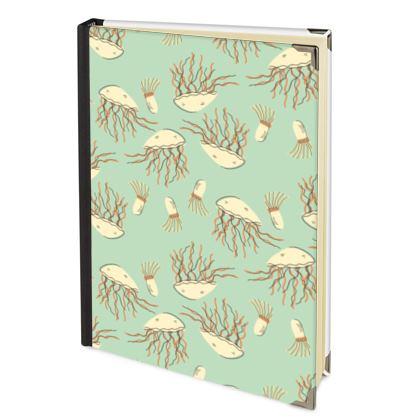 Jellyfish Aqua Blue 2022 Deluxe Diary
