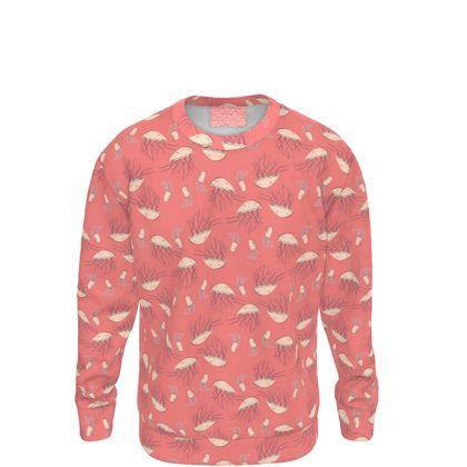 Rosy Jellyfish Pink Sweatshirt