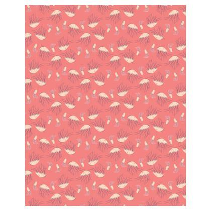 Rosy Jellyfish Pink Hoodie