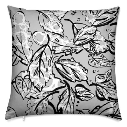 Fall for autumn throw cushion