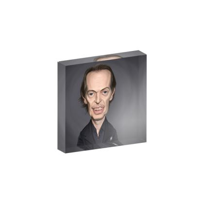 Steve Buscemi Celebrity Caricature Acrylic Photo Blocks