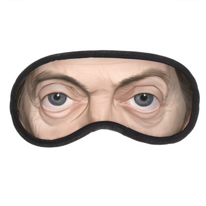 Steve Buscemi Celebrity Caricature Eye Mask