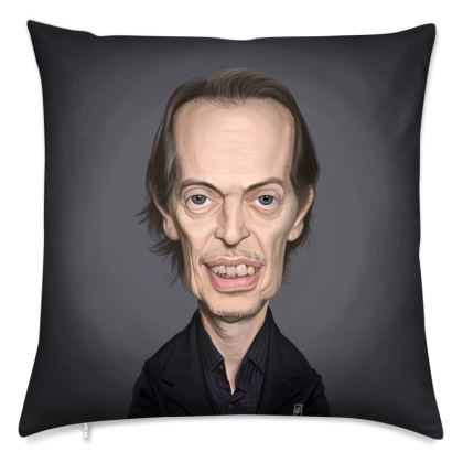 Steve Buscemi Celebrity Caricature Cushion