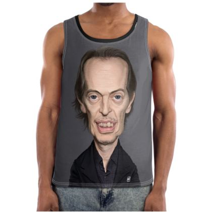 Steve Buscemi Celebrity Caricature Cut and Sew Vest