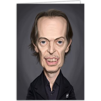 Steve Buscemi Celebrity Caricature Occasions Cards