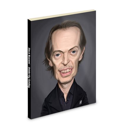 Steve Buscemi Celebrity Caricature Pocket Note Book