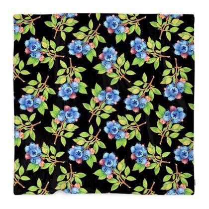 Blueberry Sprigs Blanket
