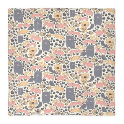 Scandinavian animal pattern Blanket