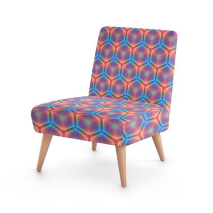 hex pattern Occasional Chair