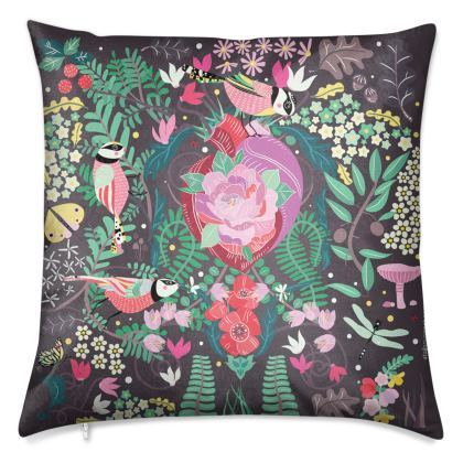 The Secret Garden Bronze Luxury Cushions