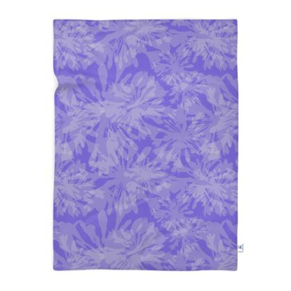 Agapanthus Luxury Collection - Floral Print Blanket