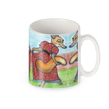 Builders' Mugs - 'Lisa the Fox'
