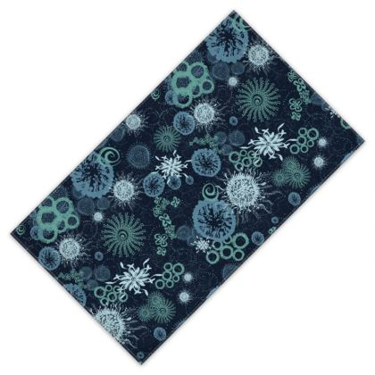 Midnight Miracle patterned Adult Single Bath Towel