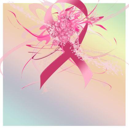 Tunic, T Shirt Dress – Tunika, T-shirt klänning - Pink flowers ribbon gradient