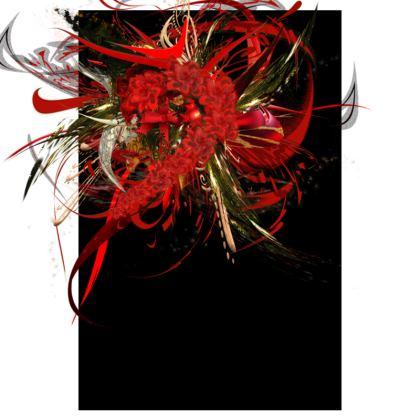 Tunic, T Shirt Dress – Tunika, T-shirt klänning - Christmas Mismatch Black