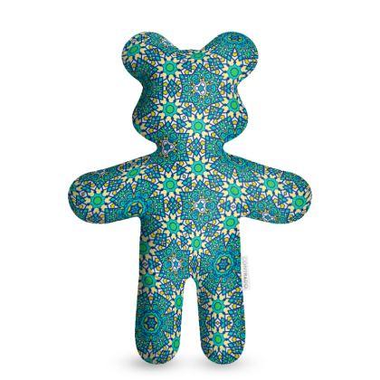 Andalusian Tile Teddy Bear