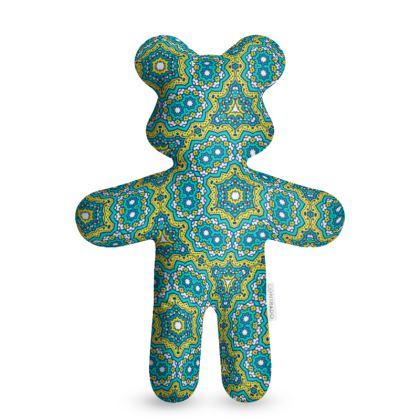 Mint and Blue Teddy Bear
