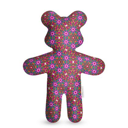 Pink and Red Teddy Bear