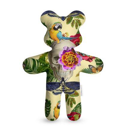 Tropical Skull Teddy Bear