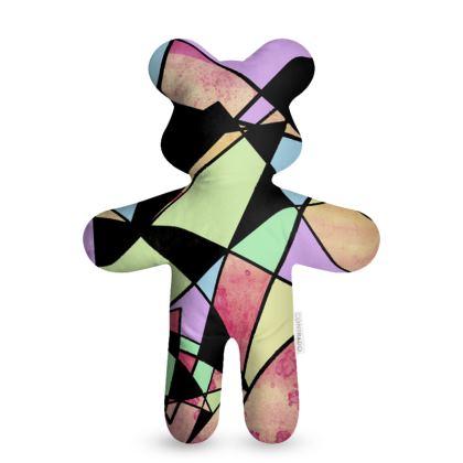 Abstract Geometry Teddy Bear