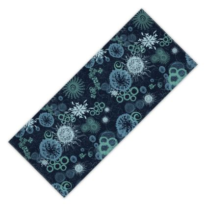 Midnight Miracle Printed Beach Towel