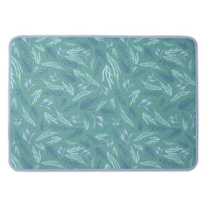 Tangled Seaweed patterned Bath Mat