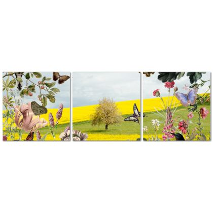 Tree of Life Triptych Canvas