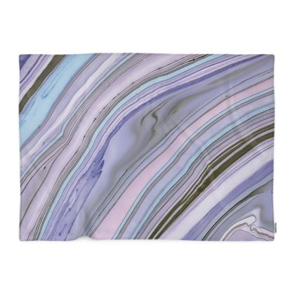 Purple Agate Photo Blanket