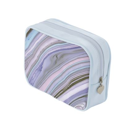 Purple Agate Style Make Up Bags
