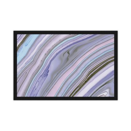 Purple Agate Style Mat