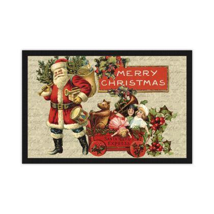Vintage Christmas Mat