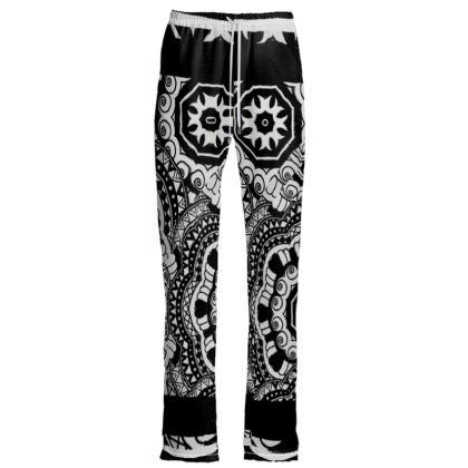 Pantaloni linea multigrafica