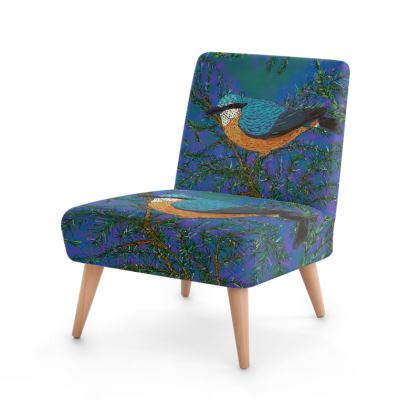 Nuthatch and Fir Occasional Chair